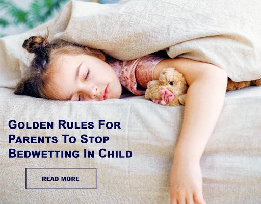 Bedwetting alarms for children