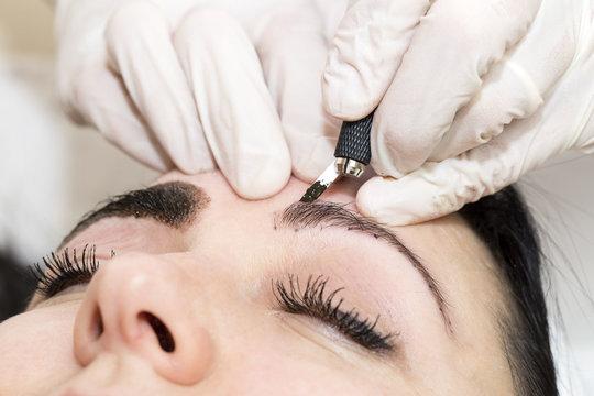 eyebrow microblading training online