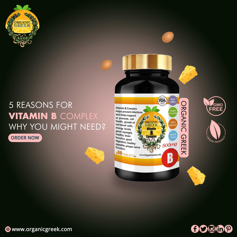 buy organic vitamin b supplement