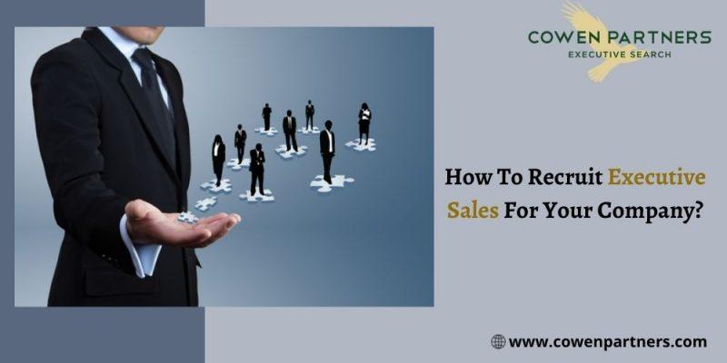 executive Sales recruitment