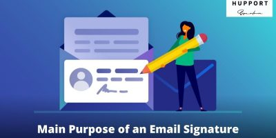 Main Purpose of an Email Signature